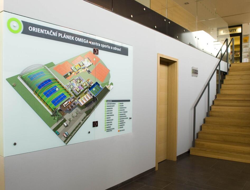 orientační systémy v budovách