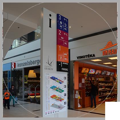světelná reklama v Brně a okolí